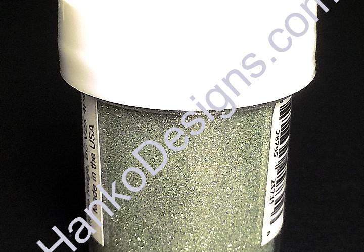 119 MFP Frosty Mint Green Jewel Glitter Ritz Glitter Micro Fine Glitter - www.HankoDesigns.com