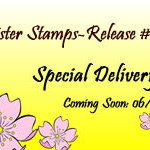 23 Special Delivery Release - Babies Sister Stamps - June 2014