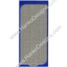 SEC7018SLV Silver Gold Glitter Dots Peel-Off Stickers - www.HankoDesigns.com