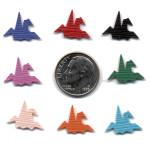 Small Crane Orizuru Paper Punch - Hanko Designs -Size - PN005