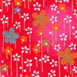 RCR1 Plum Field Red Japanese Washi Paper - Hanko Designs - www.HankoDesigns.com 2014