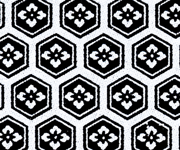 RKAW10558 Crest Black Japanese Washi Paper - Hanko Designs - www.HankoDesigns.com 2014