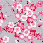 RKBH50 Pink Plum Blossom Branches Washi - Hanko Designs