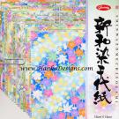JP83-0647 Shinwazome Chiyogami Kagayaki Washi Origami Paper - www.HankoDesigns.com 2014 Showa Grimm