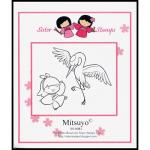 Mitsuyo Sister Stamps 2014 Crane Release 26