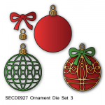 SECD0927 Ornament 3 die set www.HankoDesigns.com 2014