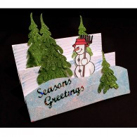 8008 Karen Swemba 2015 Card Snowman 1