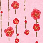 RTB8848 Cherry Pink Ume Washi Paper 8.5 x 11