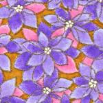 RTD6004 Lavender Passion Washi Paper Bulk 8.5 x 11