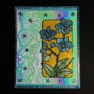 8013 Karen Swemba Orchid Flower 2015 Card