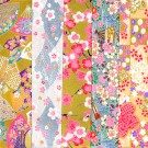 PC301 9 x 12 Yuzen Washi Assortment Sheets 2015 Hanko Designs