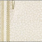PC304 Pack A Assorted White Yuzen Origami Washi Paper 2015 www.HankoDesigns.com