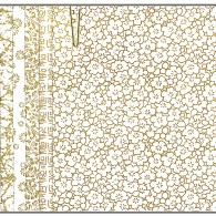 PC306 White Yuzen Washi Paper Origami 2015