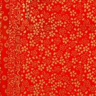 PC307 Red Assorted Yuzen Washi Origami Paper 2015 Hanko Designs