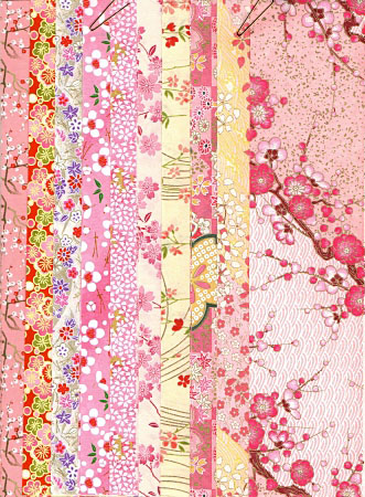 PC902 Strips Paper Exclusive Washi Package 1 Pink - www.HankoDesigns.com