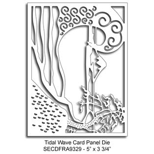 SRCFRA9329 Tidal Wave Card Panel Die Summer Lori Picks 2015
