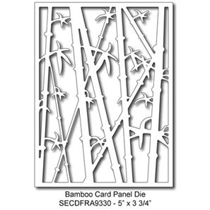 SECDFRA9330 Bamboo Card Panel Die 2015 Summer Lori Picks