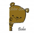 SS0095 29 Bobo Peeking Animals Series Sister Stamps 29 2015 Bear