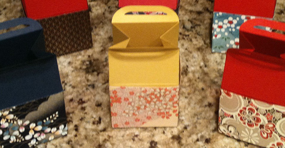 Mini Boxes June Kamigawachi Fresno Buddhist Church 2015