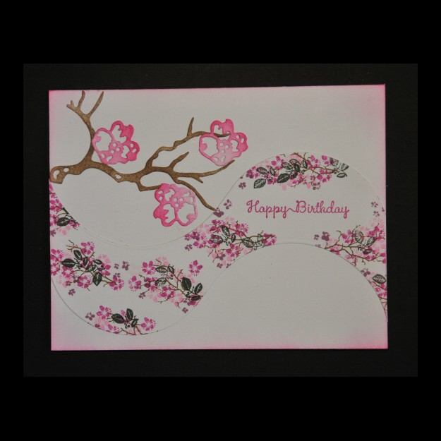 1017 Lori Lai 2015 White Curved Happy Birthday