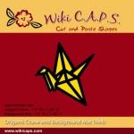 Origami Crane Die SDWCCRANE 2016 Wiki CAPS