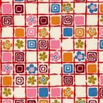 RKB2730 Pink Mozaic Washi 2016 www.HankoDesigns.com