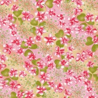 RTB7812 Pink Spring Floral Field Washi 2016 - www.HankoDesigns.com