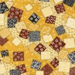 RTB8986 Yellow Classic Squares Washi 2016 - www.HankoDesigns.com