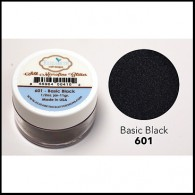 601 Black Glitter Elizabeth Craft Designs Micro Fine Soft  www.HankoDesigns.com Basic Black