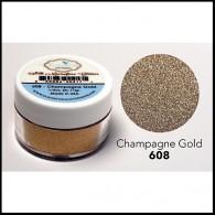 608 Champagne Gold Glitter Elizabeth Craft Designs Micro Fine Soft  www.HankoDesigns.com