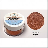 610 Copper Glitter Elizabeth Craft Designs Micro Fine Soft  www.HankoDesigns.com