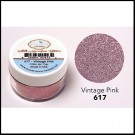 617 Vintage Pink Glitter Elizabeth Craft Designs Micro Fine Soft  www.HankoDesigns.com