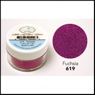 619 Fuchsia Glitter Elizabeth Craft Designs Micro Fine Soft  www.HankoDesigns.com