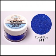 623 Royal Blue Glitter Elizabeth Craft Designs Micro Fine Soft  www.HankoDesigns.com