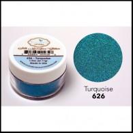 626 Turquoise Glitter Elizabeth Craft Designs Micro Fine Soft  www.HankoDesigns.com