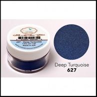 627 Deep Turquoise Glitter Elizabeth Craft Designs Micro Fine Soft  www.HankoDesigns.com