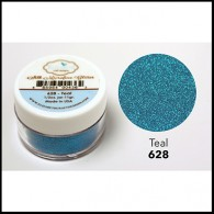 628 Teal Glitter Elizabeth Craft Designs Micro Fine Soft  www.HankoDesigns.com
