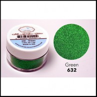 632 Green Glitter Elizabeth Craft Designs Micro Fine Soft  www.HankoDesigns.com