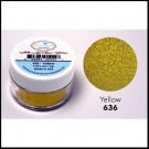 636 Yellow Glitter Elizabeth Craft Designs Micro Fine Soft  www.HankoDesigns.com