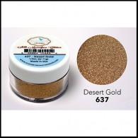 637 Desert Gold Glitter Elizabeth Craft Designs Micro Fine Soft  www.HankoDesigns.com