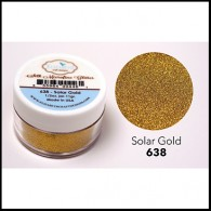 638 Solar Gold Glitter Elizabeth Craft Designs Micro Fine Soft  www.HankoDesigns.com