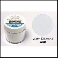 640 Warm Diamond Glitter Elizabeth Craft Designs Micro Fine Soft  www.HankoDesigns.com highlight transparent