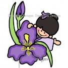 sc9 iris Dandelion Stamp SC09
