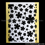 SECFU157183 Sakura Snowfall ULT157183 www.HankoDesigns.com Embossing Folder Cherry Blossom