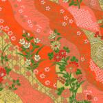 RTB10274 Orange Field Washi Paper - www.HankoDesigns.com