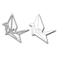 FRA10065 Origami Crane Die Set 2017 Frantic Stamper