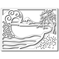 SRCFRA09329 Tidal Wave Card Panel Die Summer Lori Picks 2015