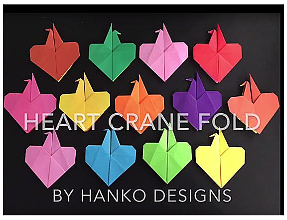 heart crane fold video