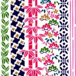 RKB2883 Spring Floral Lines Washi - Bulk Washi Paper - www.HankoDesigns.com 2017