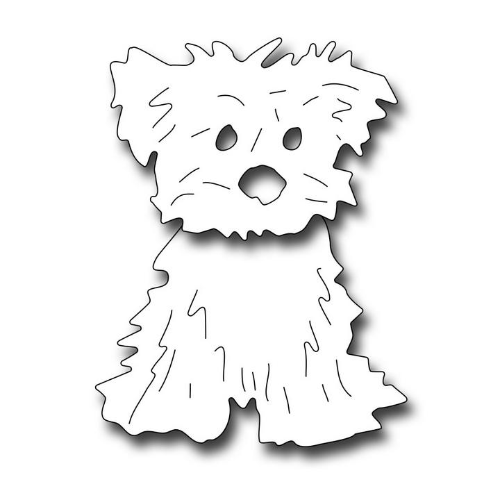 SECDFRA10074 Bobble Head Dog Die 2017 Frantic Pup